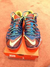 Nike CJ3 81 Trainer Flyweave Mens Sz 10 Zoom Sneaker 725231-476 Calvin Johnson