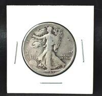 1943 Walking Liberty Half Dollar~90% Silver~!