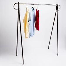 "48"" Economical Clothing Clothes Garment Retail Display Single Bar Racks"