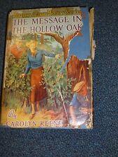 Vintage Nancy Drew The Message in the Hollow Oak