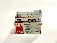 TOMICA SUPER AMBULANCE TAKARA TOMY DIECAST CAR (NO. 116)