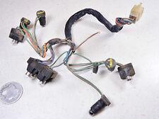 81 HONDA CB750K CB750 FOUR K SPEEDOMETER RPM & PLOT CASE LIGHTING HARNESS
