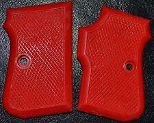 FIE Titan 25 ACP pistol grips cadmium red plastic