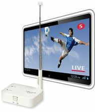 Mobile TV on Android & iPhone without using cellular data. Receives DVB-T ISDB-T