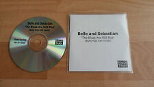 BELLE AND SEBASTIAN - THE BLUES ARE STILL BLUE (RARE 1 TRACK PROMO CD SINGLE)
