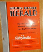 Motion Picture Herald July 2 1955 Davy Meets Marilyn Wizard of Oz Bogart Hope