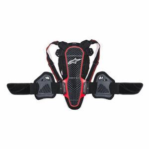 Alpinestars Nucleon KR-3 Motorbike Motorcycle Back Protector Smoke / Black / Red