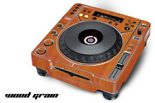 Skin Decal Sticker Wrap for Pioneer CDJ 800 MK2 Turntable Pro Audio Mixer GRAIN