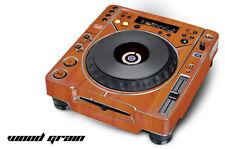 Skin Decal Sticker Wrap for Pioneer CDJ 800 MK2 Turntable Pro Audio Mixer GRAIN