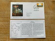 INDIA 2000 FDC PCS MILLENNIUM FIRST SUNRISE KATCHAL ISLAND BOMBAY # RARE #