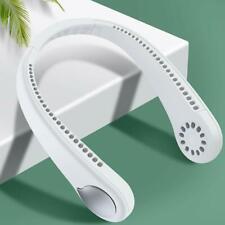 Portable Neck Fan Hands Free Bladeless Wearables Personal Fan USB Rechargeables