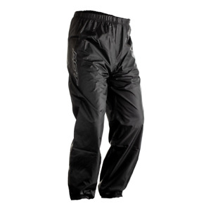 RST Light Waterproof Black Motorcycle/Golf/Walking/Scooter Rain Over Trousers