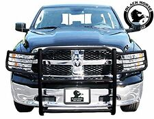 Black Horse 2009-2018 Dodge Ram 1500 Black Grille Brush Bumper Guard 17DG109MA