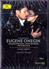 2.DVD TCHAIKOVSKY EUGENE ONEGIN Anna NETREBKO KWIECIEN BECZALA VOLKOVA GERGIEV