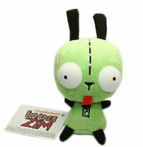 Alien Invader Zim Dog Suit Gir Robot Plush Doll Stuffed Animal Toy 6 inch Gift