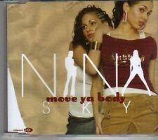 (CL256) Nina Sky, Move Ya Body - 2004 CD