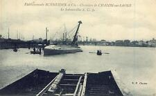 Etablissements SCHNEIDER et Cie Chantiers CHALON SUR SAÔNE Le Submersible S.C.3