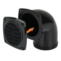 """NEW Bilge Blower Air Vent Outlet 75mm (3"""") with 90 Degrees Elbow, Exhaust Vent"""