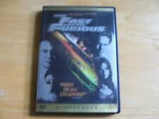 The Fast And The Furious WIDESCREEN Edition DVD Excellent Condition!