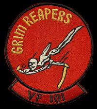 USN VF-101 Grim Reapers Patch Q-1