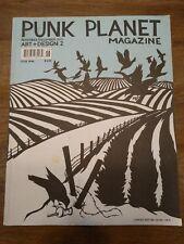 Punk Planet #46 Magazine November / December 2001 Art + Design 2 Shepard Fairy