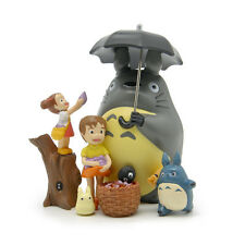 NEW 8pcs/set My Neighbor Totoro Resin decoration dolls Anime action figure Toy