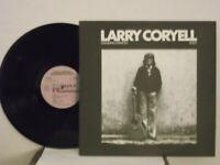 "Larry Coryell,Novus,""Standing Ovation, Solo"",US,LP,st,jazz guitar,textured cvr,M"