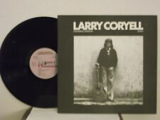 "Larry Coryell,Novus,""Standing Ovation, Solo"",US,LP,st,jazz guitar,textured cvr,M"