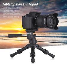 Andoer Portable Table Top Mini Tripod Stand & Pan Head Universal for DSLR Camera