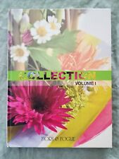 Libro Book fiori & piante collection vol 1 illustrato copertina rigida UF1