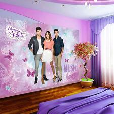 Enfants papier peint papiers peints photos papier peint papier peint la fresque violetta disney 3fx1580p4