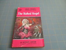 THE NAKED ANGEL BY JACK WEBB     1950's PULP HARDBOILED MYSTERY  GGA COVER !