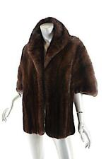 WILLIAMS FURS Glendale Vintage Chestnut Brown 100% MINK Stole - GLAMOROUS - O/S