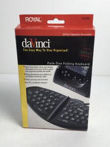 Royal DaVinci Palm-Size Folding Keyboard KB2000