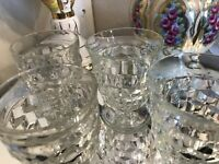 Fostoria Set Of 4 Glasses Antique Mint Condition