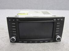 VW Touareg 7L Navigatore GPS Schermo Radio Blaupunkt DVD Aux 7L6035177E