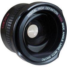 Super Wide Hi Def Fisheye Lens With Macro For JVC Everio GZ-R550 GZ-R440