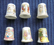 "Year of 3 Kings, Edward 8 ""Coronation"", and 4 Other Collectable China Thimbles"