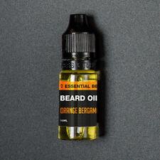 Orange and Bergamot Moustache & Beard Oil 10ml Bottle UK MADE Movember