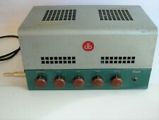 BOGEN J130 Vintage 6L6 Tube Mono Integrated/PA Amplifier: Works well for Guitar