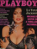 Playboy March 1989 | La Toya Jackson Laurie Wood   #988+