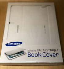 GENIUNE SAMSUNG GALAXY TAB2 10.1 BOOK COVER WHITE BRAND NEW
