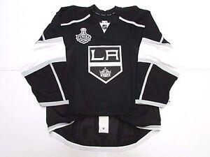 LOS ANGELES KINGS HOME TEAM ISSUED 2012 STANLEY CUP REEBOK EDGE 2.0 JERSEY SZ 58