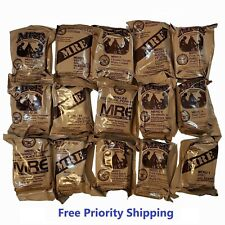 MRE US MILITARY Case A/B 3 Random Draw - MEALS READY TO EAT