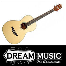 Crafter PL 8/N - Natural Gloss Finish Parlour Size Acoustic Guitar RRP$799