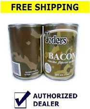 2 can Yoders Bacon, 9 oz Ready to Eat Long Term Survival Food outdoor food