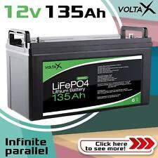 VOLTAX 12V 135Ah LiFePO4 Lithium Ion Battery
