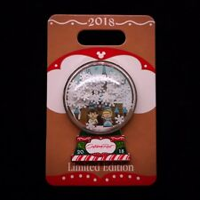Le Cinderella Contemporary Resort Gingerbread House Snowglobe 2018 Disney Pin