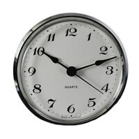 Uhrwerk I Quartz I Einsteckwerk I Einbau-Uhr l Modellbau-Uhr l Ø 103 mm l 8077