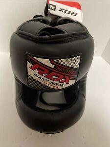 RDX Training Head Guard Helmet Boxing MMA Martial Art Kick Gear Face Protector!!